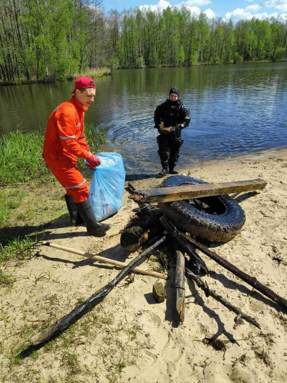 Водолазы обследовали три пляжные зоны Сормовского района. Фото: пресс-служба администрации Нижнего Новгорода.