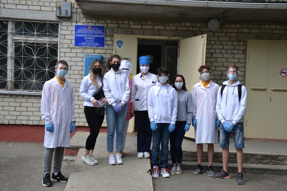 Волонтеры из невинномысского Центра детского научного и инженерно-технического творчества.