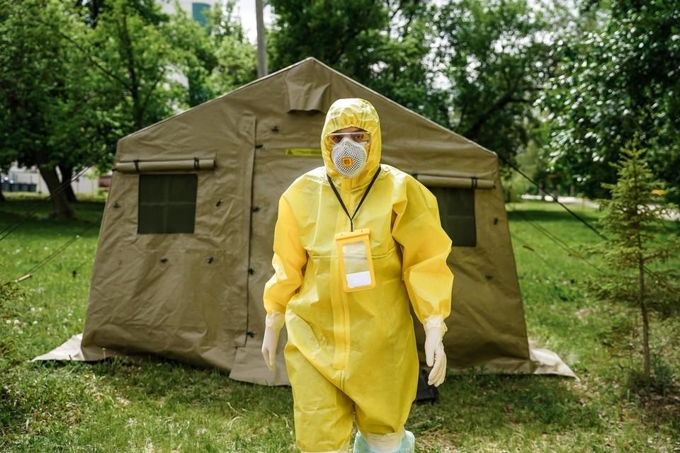 В Самарской области продолжает расти число заболевших Covid-19