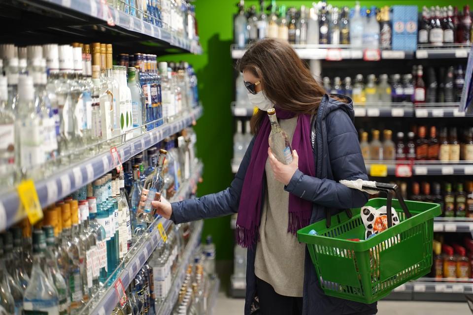Россияне стали пить больше алкоголя во время самоизоляции