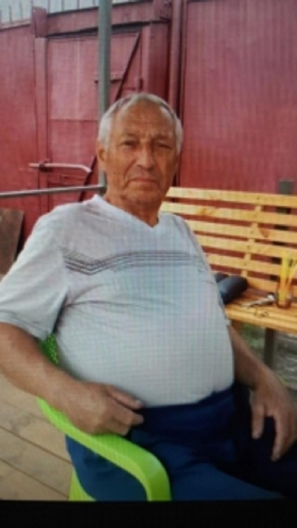 Пожилой мужчина ушел из дома 7 мая текущего года и до сих пор не вернулся