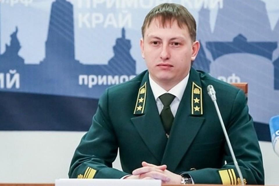 И.о. главы департамента лесного хозяйства края Владимир Иванов в 2016 году. Фото: пресс-служба администрации Приморья