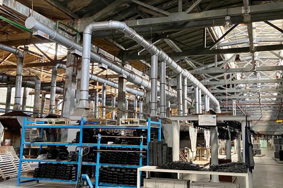Этот производственный участок закрыт на карантин.