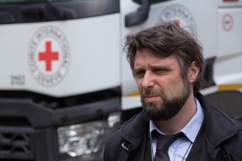 В Донецк приехал конвой Красного Креста гуманитарной помощи в борьбе с коронавирусом