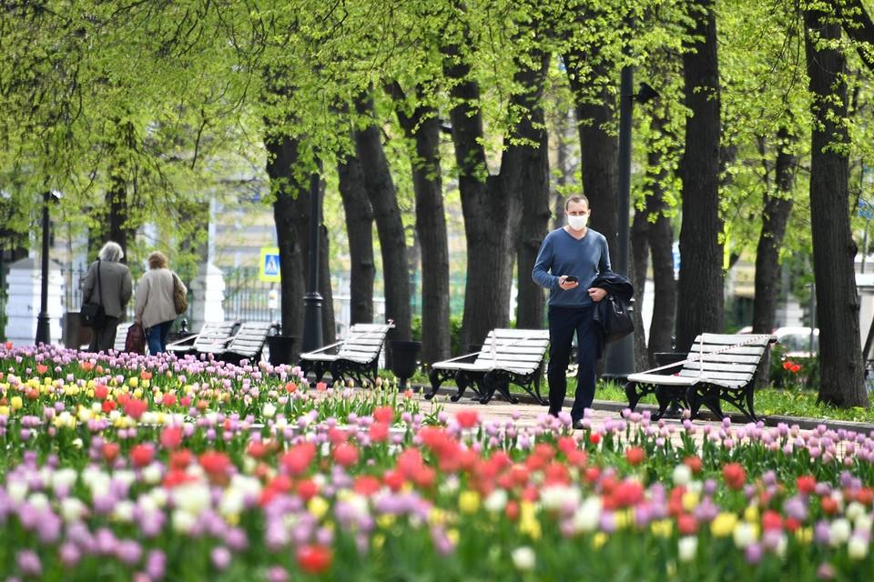 С 1 июня в Москве разрешены пешие прогулки около дома для всех желающих.