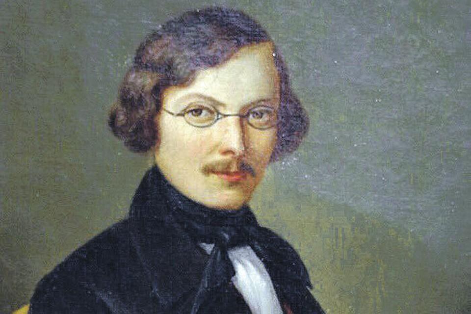Вы не поверите, привыкнув к классическим портретам Гоголя из учебников литературы, но это тоже он. Кисти немецкого художника Больца, 1845 год.
