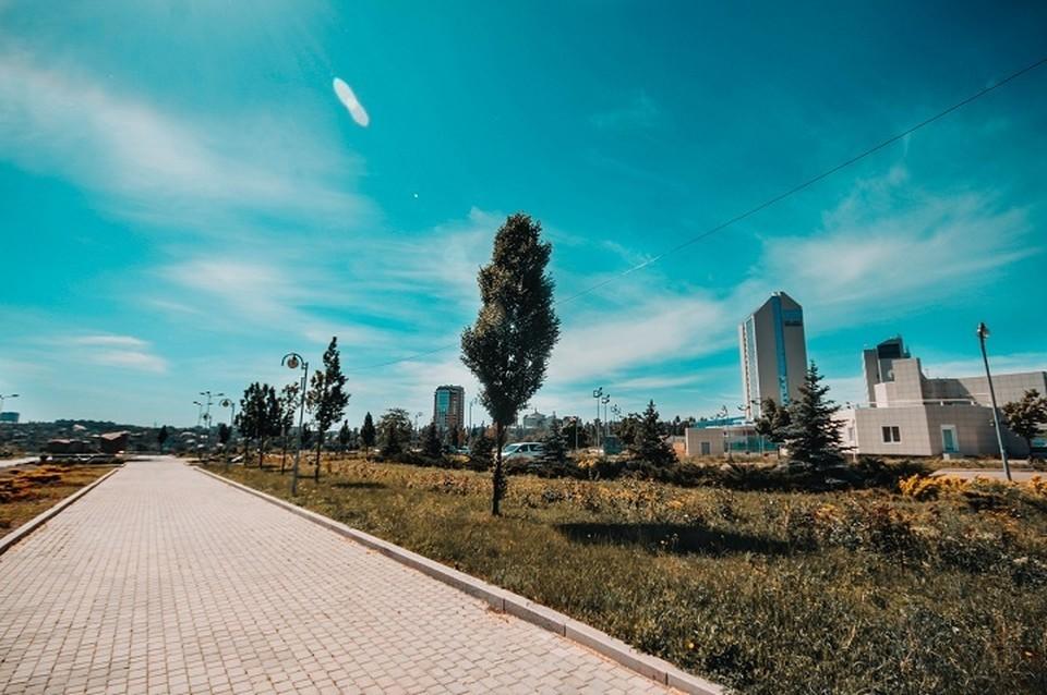 Температура воздуха в июне в Донецке достигнет 31 градуса тепла