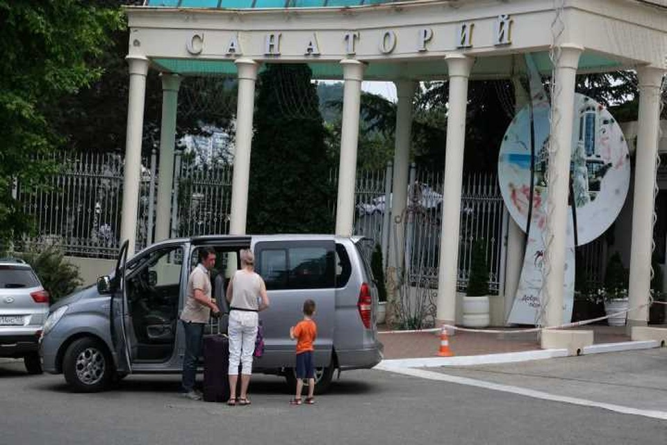 1 июня в Сочи начали открываться санатории
