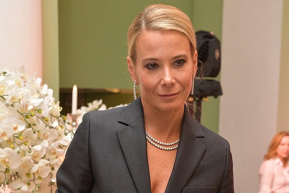 46-летняя актриса Юлия Высоцкая.