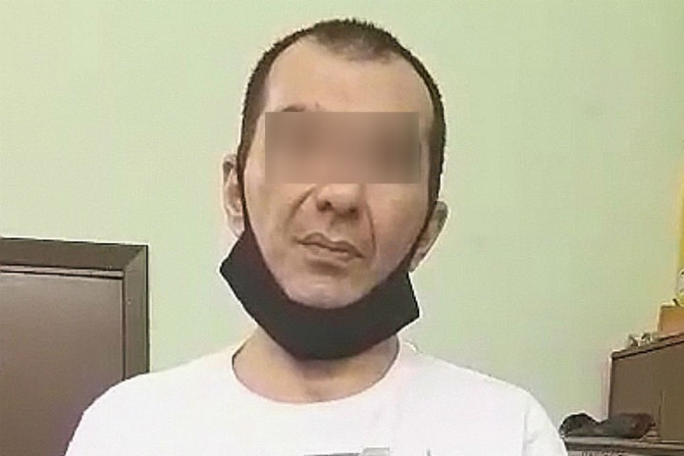 Задержанный организатор похищения бизнесмена. Фото: СУ СК России по Иркутской области.