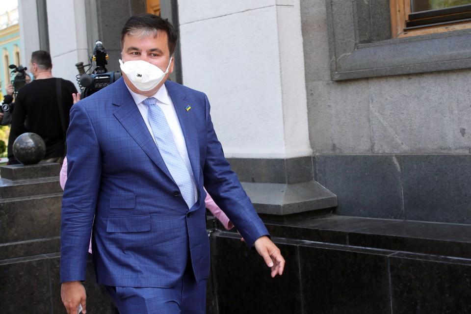 Саакашвили сегодня работает фактически как спикер власти.