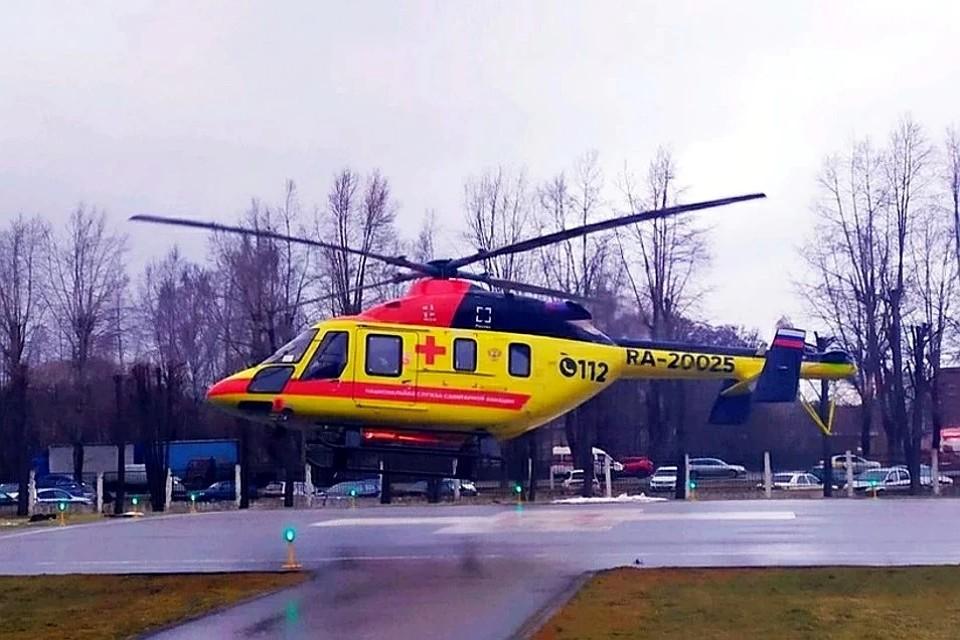 В настоящее время в регионе уже есть 25 вертолетных площадок. Фото: ПТО