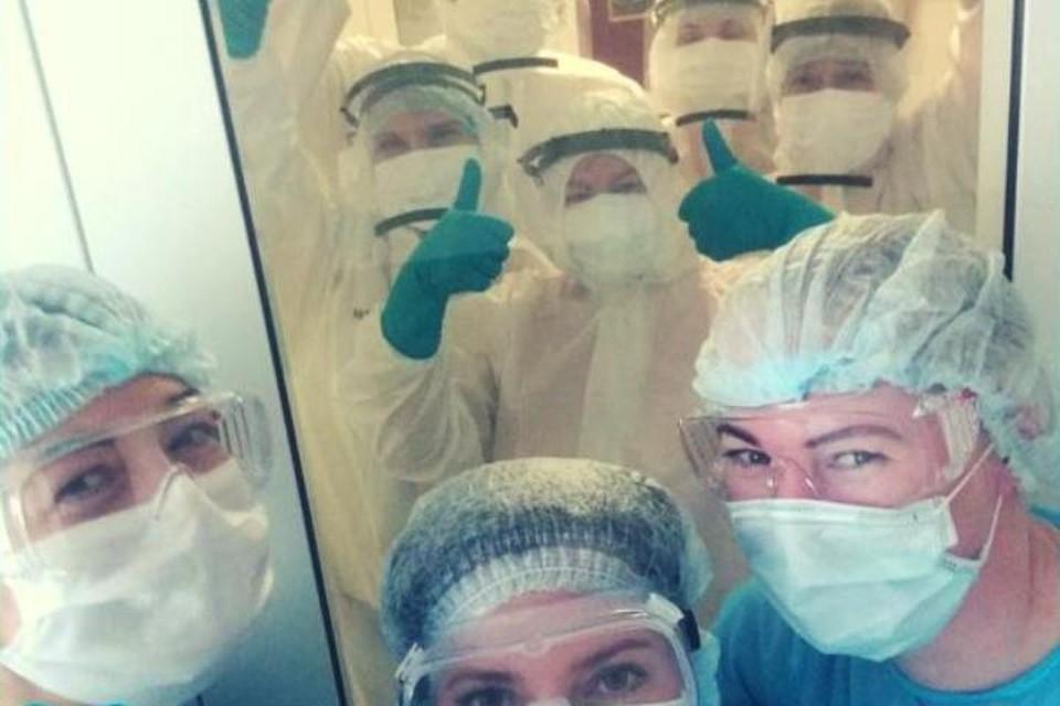 Медики из обсервации передают привет своим близким и всем калининградцам!