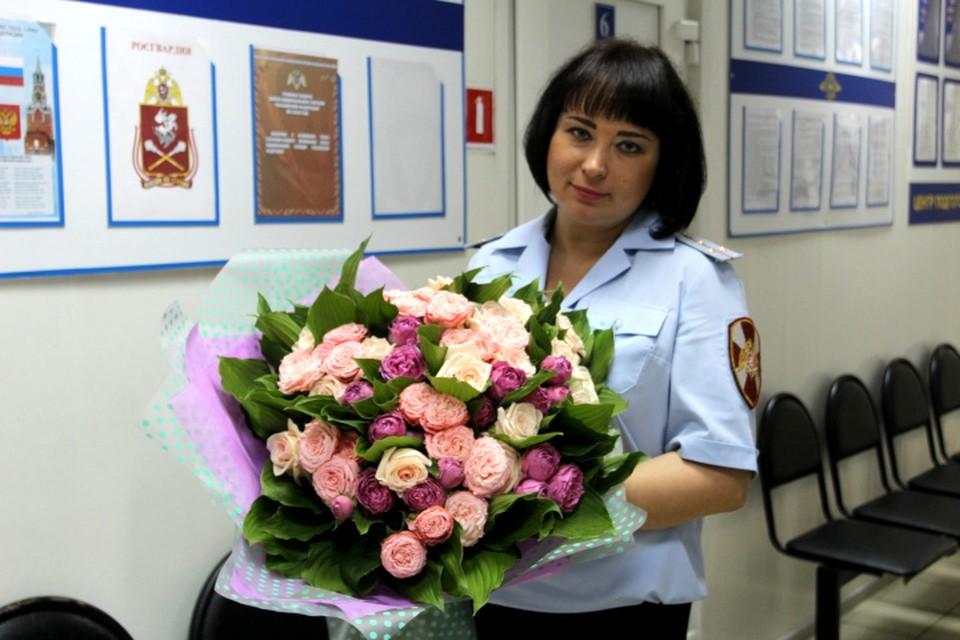 Победительницей стала капитан полиции Елена Гусева