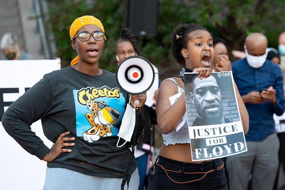 Активисты BLM провозгласили Джорджа Флойда мучеником