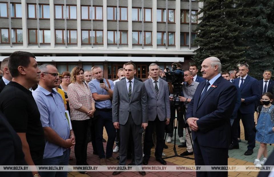 Лукашенко поговорил с протестной инициативной группой. Фото: belta.by