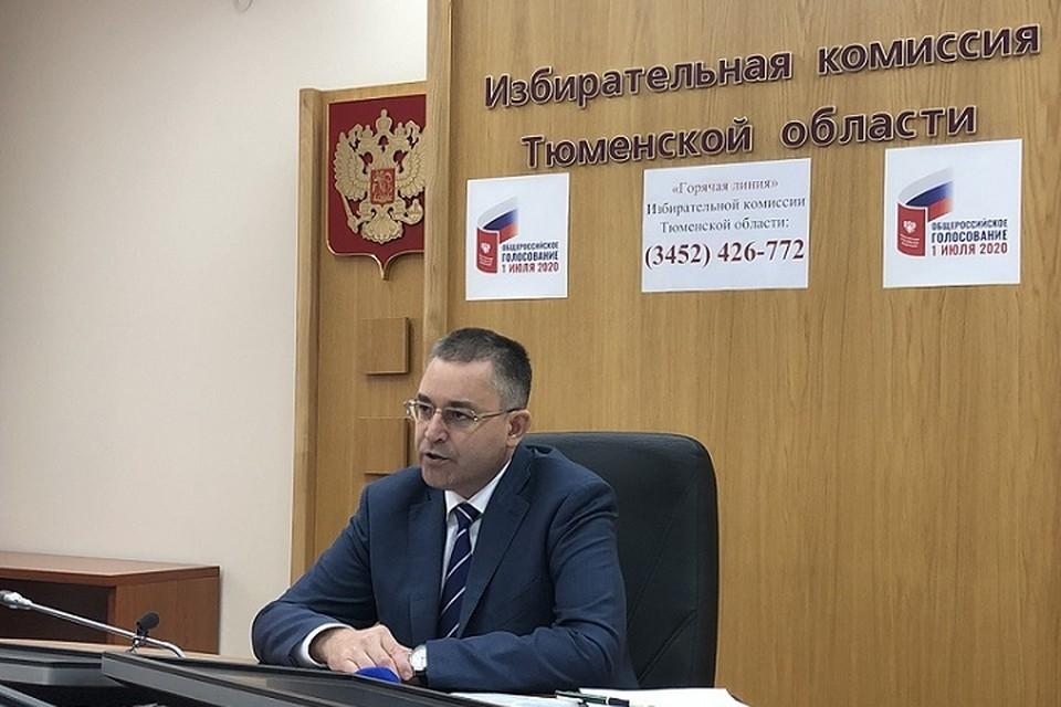 Игорь Халин: голосование по поправкам в Конституцию 1 июля пройдёт с соблюдением санитарных норм