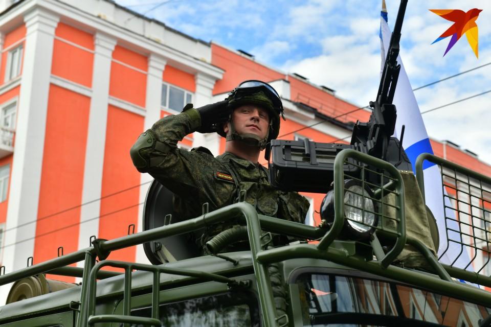 Парад Победы в Мурманске состоялся, не смотря ни на что.