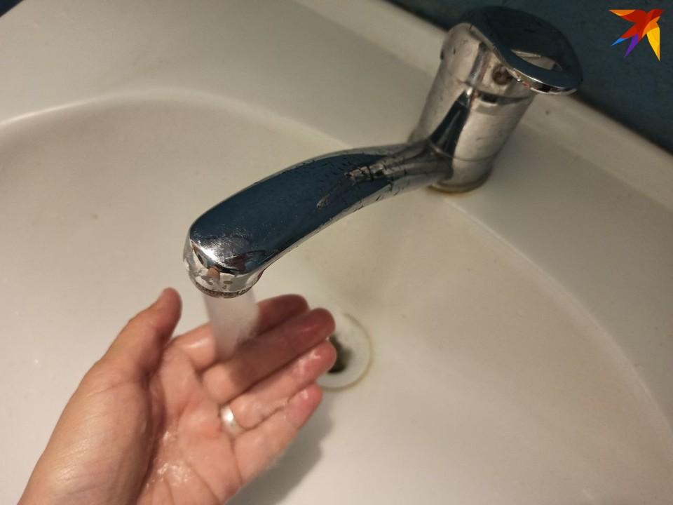 Минчане жалуются на плохую воду в некоторых районах.
