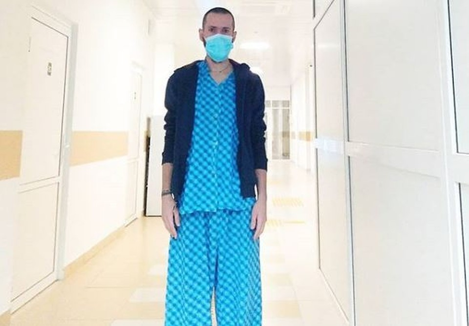 """Тобольский медик, заразившийся коронавирусом, стал инста-блогером. Фото со страницы Дениса Сандрака в """"Инстаграм""""."""