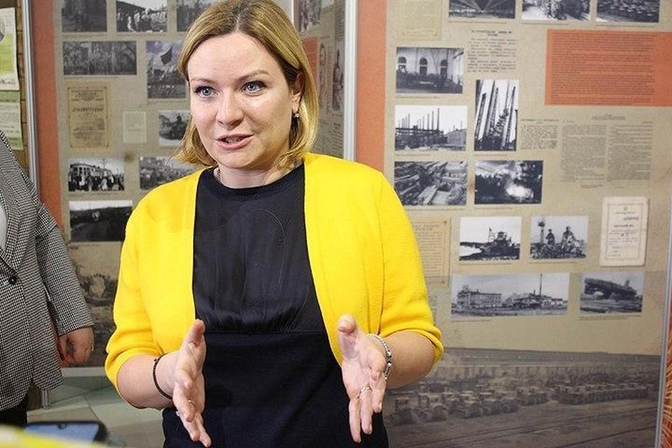 Ольга Любимова осмотрела два музея в здании волгоградского ЦУМа.