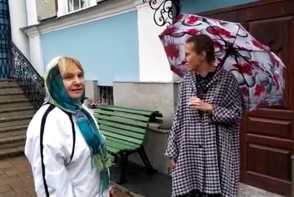В Екатеринбург прилетела Ксения Собчак, чтобы встретиться с опальным отцом Сергием