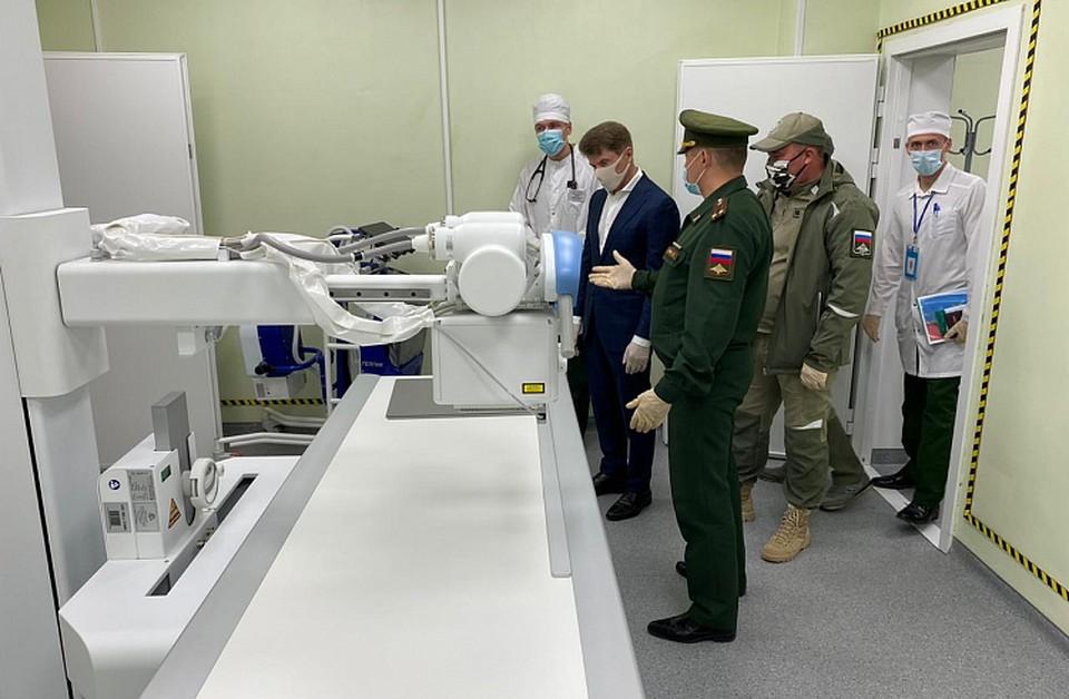 Губернатор Приморья посетил многофункциональный медицинский центр в Уссурийске. Фото: сайт правительства Приморского края