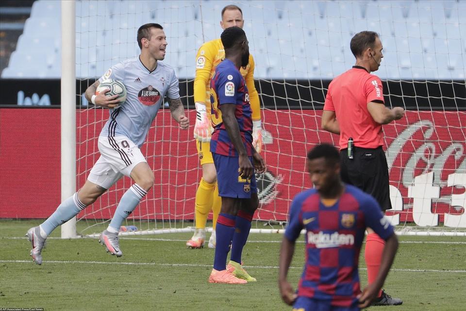 Фёдор Смолов, выступающий на правах аренды за «Сельту», забил свой второй гол в чемпионате Испании.
