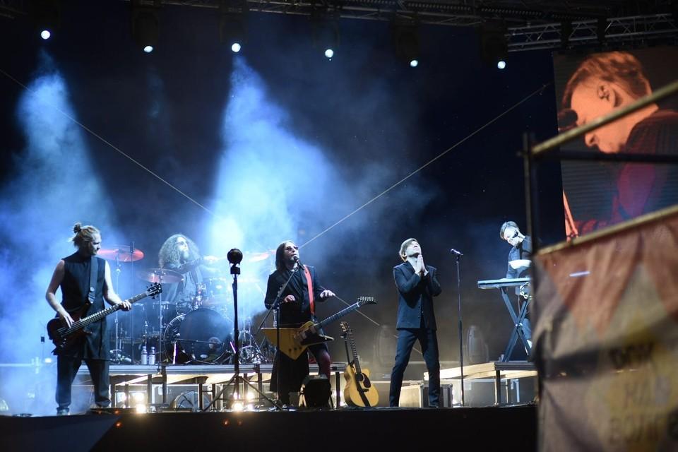 Би-2 выступили в Самаре