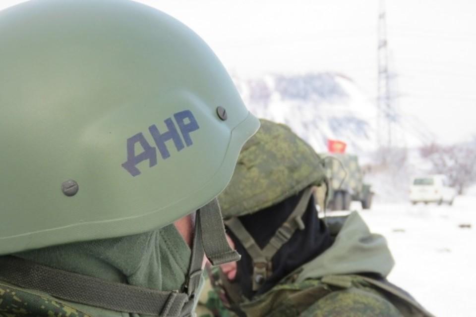 ДНР открывает огонь исключительно в ответ. Фото: УНМ