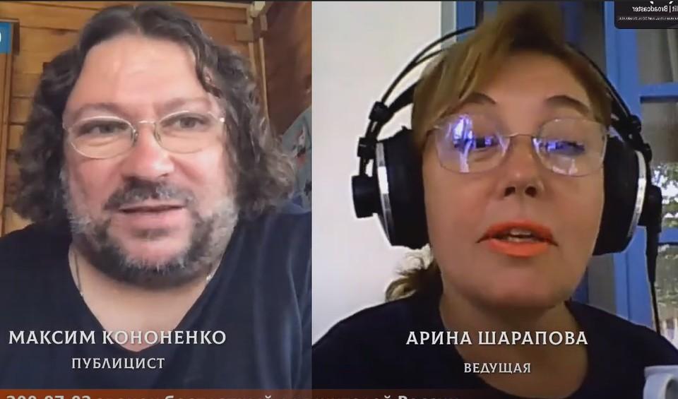 Арина Шарапова взяла интервью у Максима Кононенко.