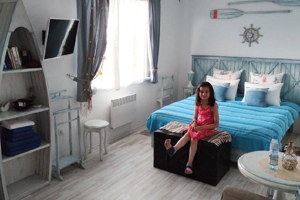 В номере семейного отеля «Трирема».