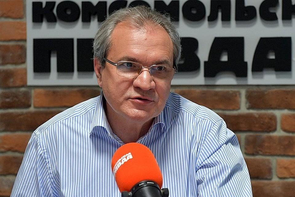 Председатель Совета при Президенте России по развитию гражданского общества и правам человека Валерий Фадеев
