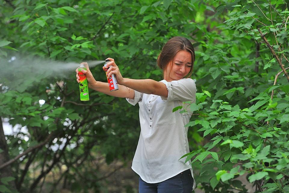 Летом 2020 года комары не дают москвича покоя.