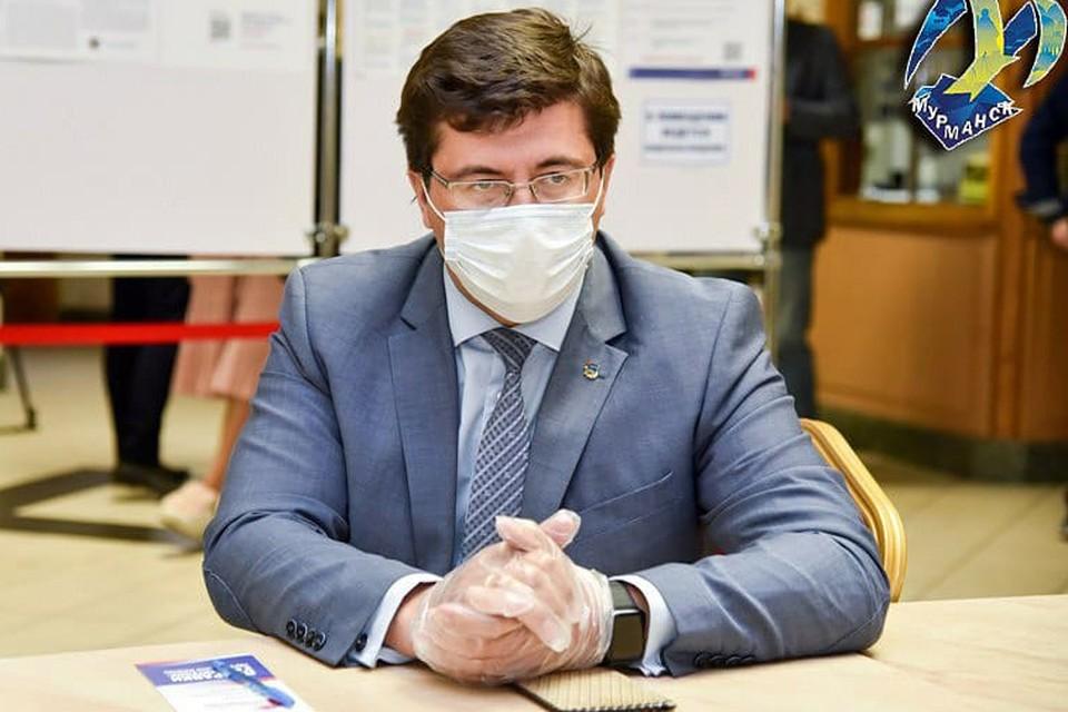 У Евгения Никоры подтвердили коронавирус. Фото: Администрация Мурманска