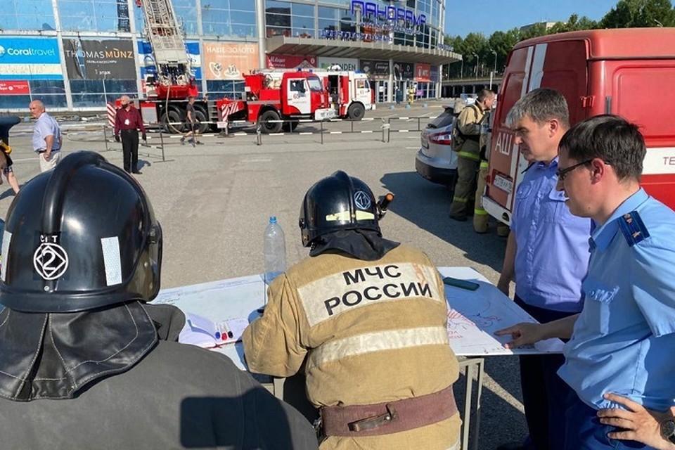 На месте пожара был развернуть оперативный штаб. Фото: прокуратура Татарстана
