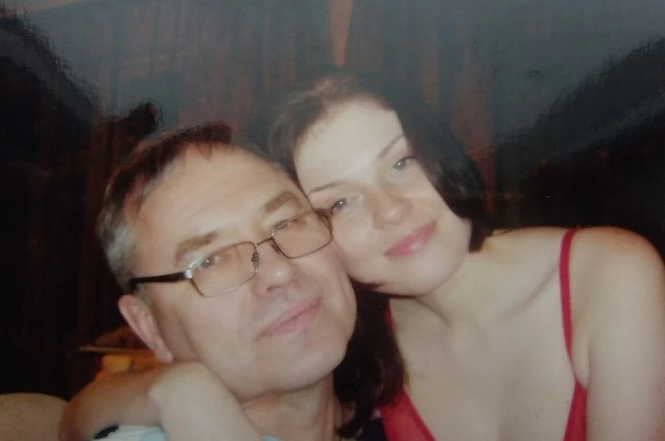 Сергей был почти в два раза старше Ирины. Фото из семейного архива.