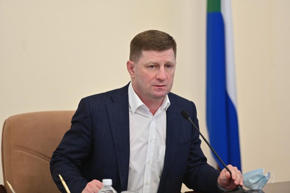 Задержание главы Хабаровского края Сергея Фургала: что известно к этому часу