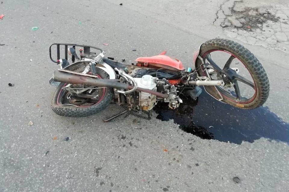Под Липецком подросток пострадал в аварии