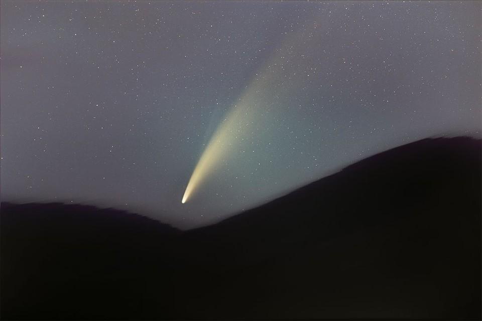 Новосибирский фотограф охотился за кометой две ночи. Фото: Алексей ПОЛЯКОВ, www.instagram.com/nsk365