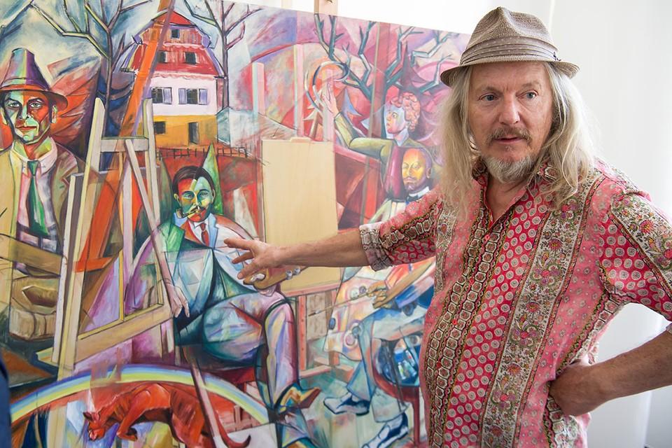 """Вольфганг Бельтракки вел веселую жизнь: то путешествовал, то ходил под парусом, то снимал кино. Он неплохо рисовал и часто дарил друзьям свои рабты выполненные """"под Пикассо""""."""