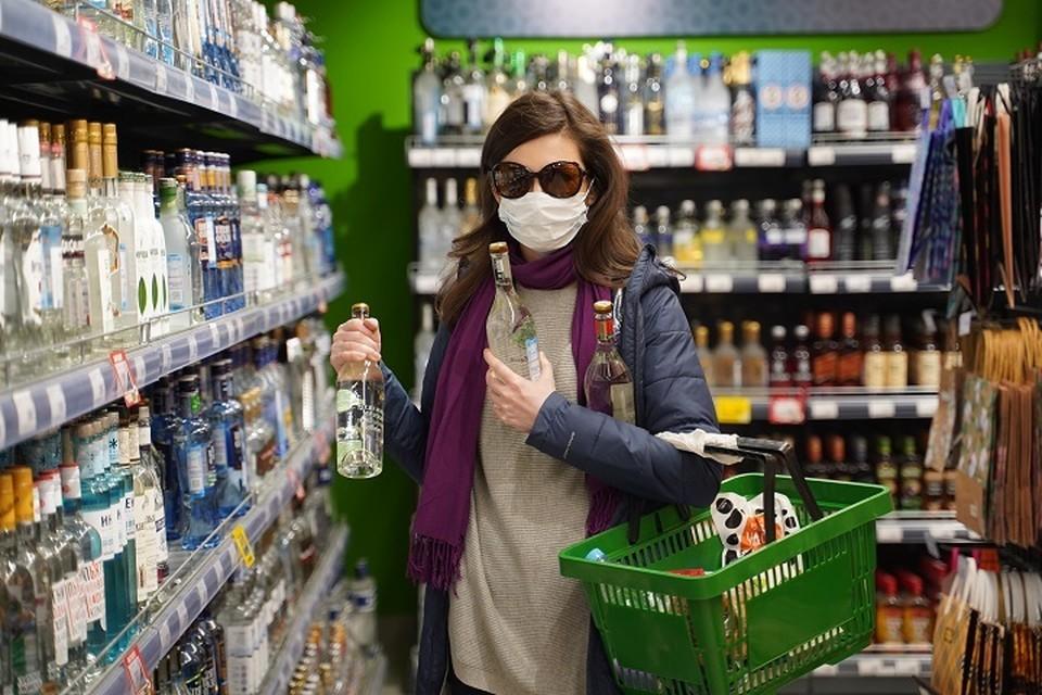 Продажа алкоголя с апреля в Ульяновской области сократилась.