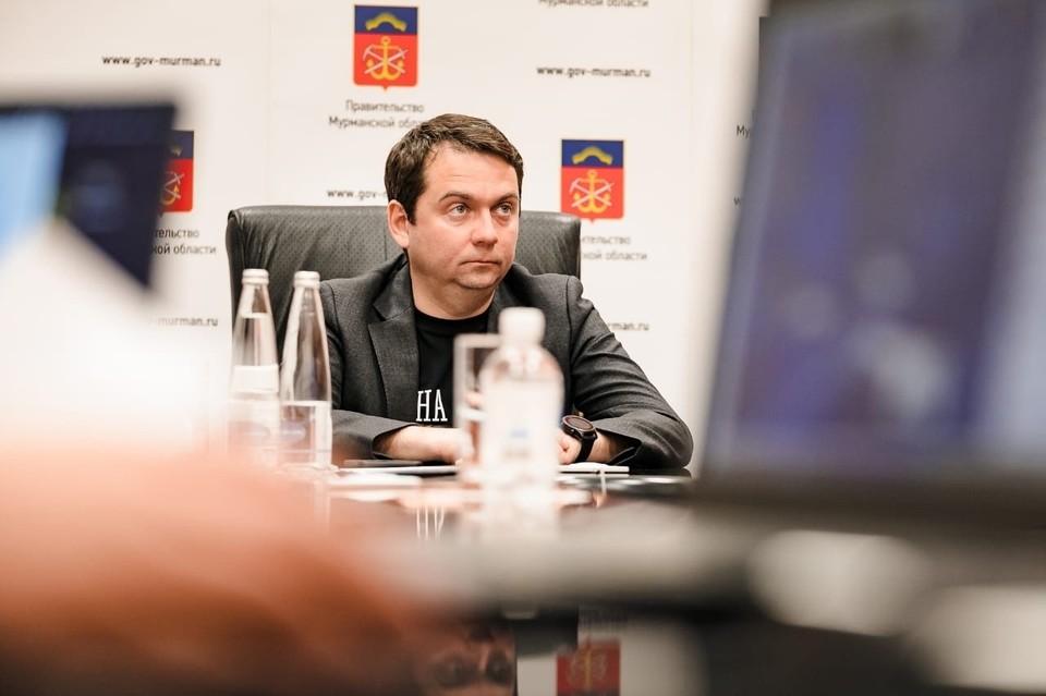 Андрей Чибис о ситуации с коронавирусом в Мурманской области. Фото: правительство Мурманской области