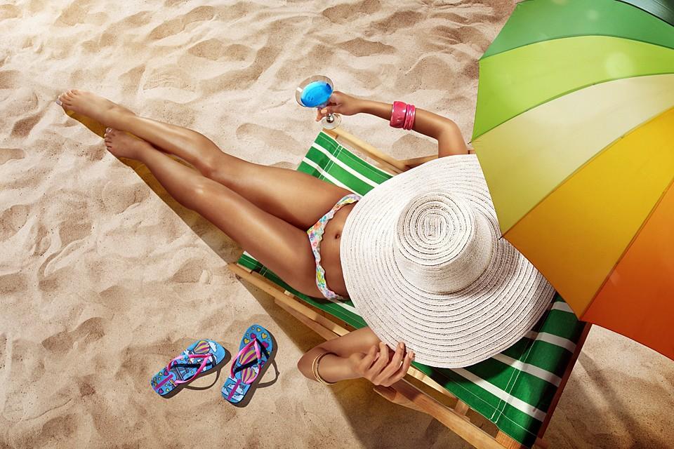 Обязательно носите головной убор при жаркой солнечной погоде