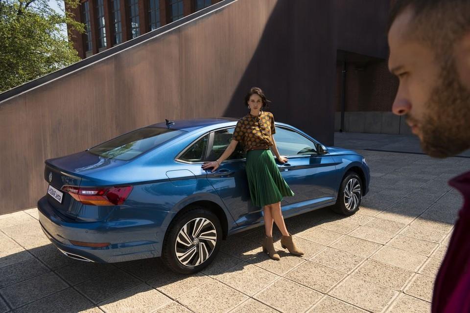 Новый Volkswagen Jetta у официального дилера Volkswagen в Челябинске