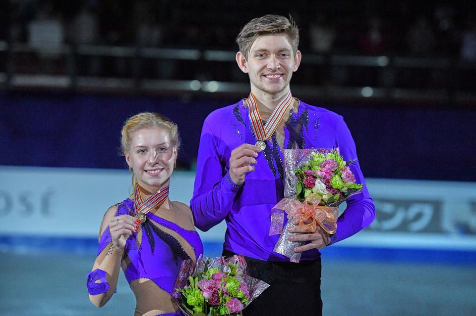 Екатерина Александровская с Харли Уиндзором стала чемпионкой мира среди юниоров.