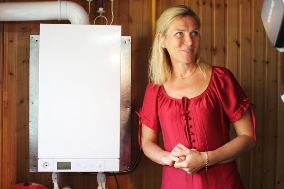 Семья Оксаны Фаргер первой в Горном получала газ в свой дом.