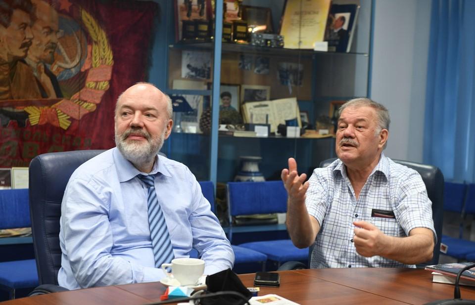 Павел Крашенинников и Александр Гамов обсудили итоги законодательного марафона.