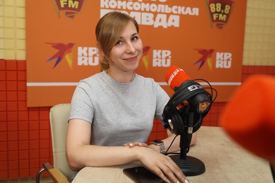 Елена Сонина - начальник управления по развитию студенческого потенциала Северо-Кавказского федерального университета