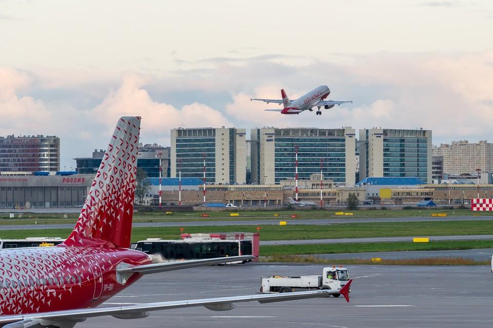Международные полеты из Пулково возоблновятся с 1 августа.